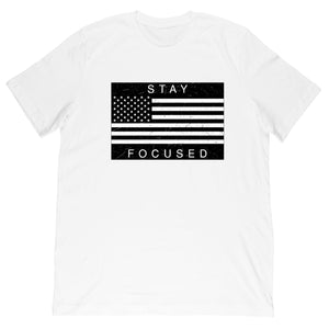 USA Flag Tee - Work Smarter Lifestyle
