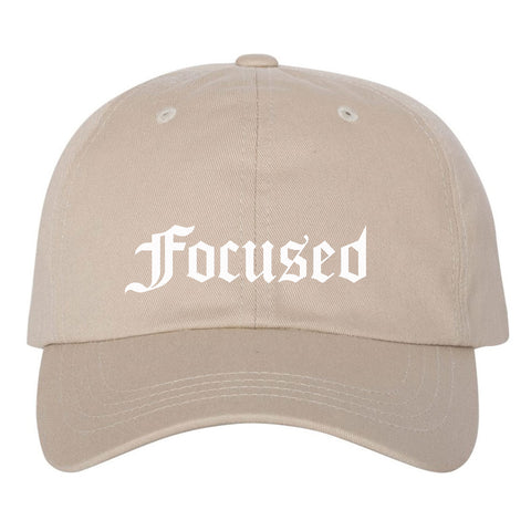 Focused Cap - Stone - Work Smarter Lifestyle