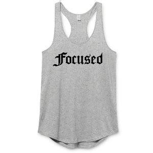 Focused Premium Racerback - Work Smarter Lifestyle