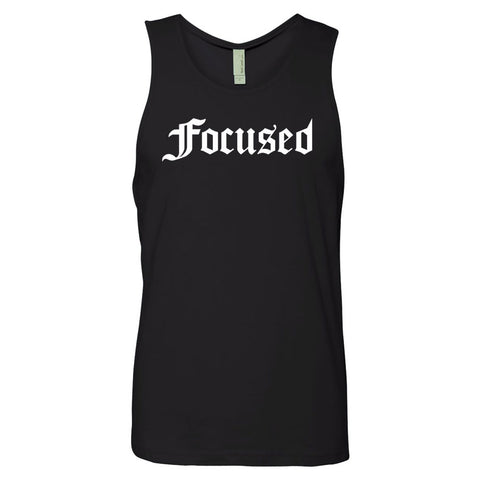 Focused Box Muscle Tank - Work Smarter Lifestyle