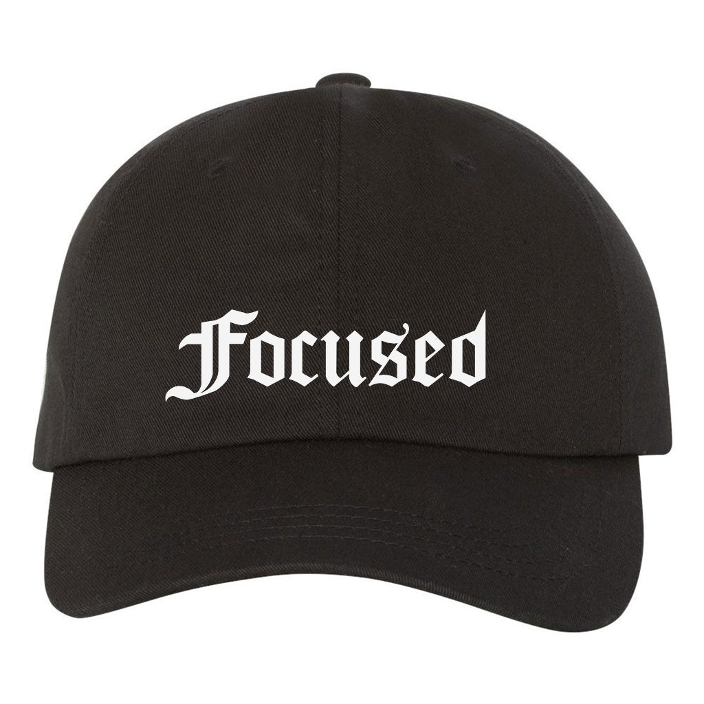 Focused Cap - Black - Work Smarter Lifestyle