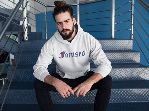 Focused Hoodie - Limited Edition - Work Smarter Lifestyle