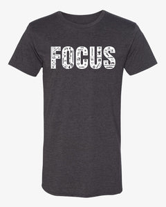 Focus Long body T-Shirt - Grey