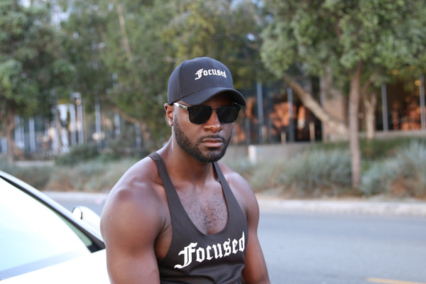 Focused Gym Tank top - Black