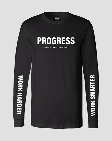 Progress Long Sleeve - Black