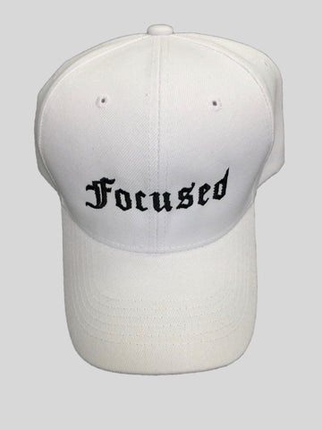 Focused Cap - White
