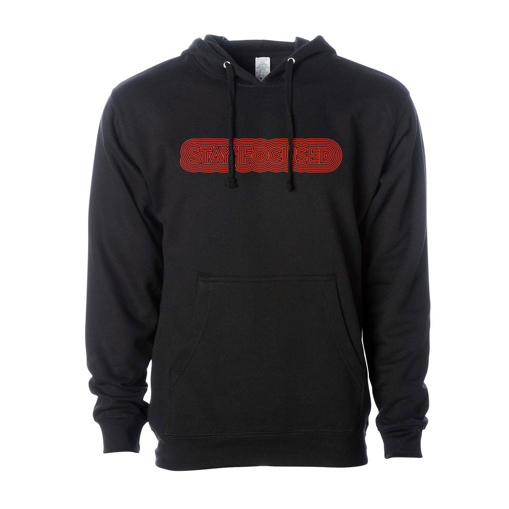Stay Focused Maze Hoodie - Work Smarter Lifestyle