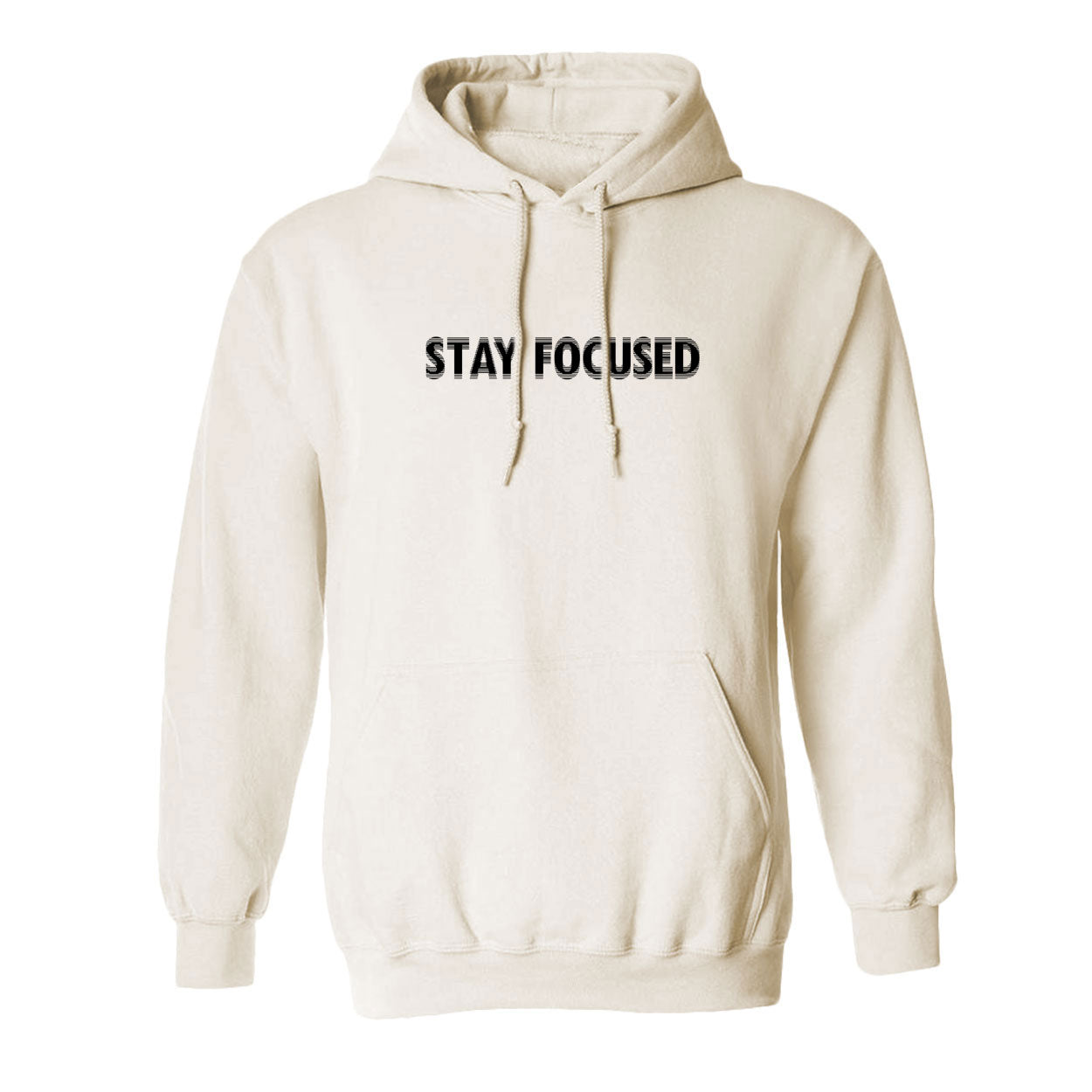 Stay Focused Fuzzy Hoodie