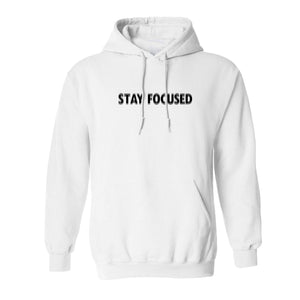 Stay Focused Fuzzy Hoodie - Work Smarter Lifestyle