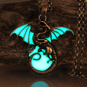 Luminous Dragon Pendant/Necklace - Glow in the Dark