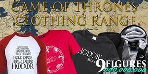 Visit the Game of thrones clothing collection of 9figures now!
