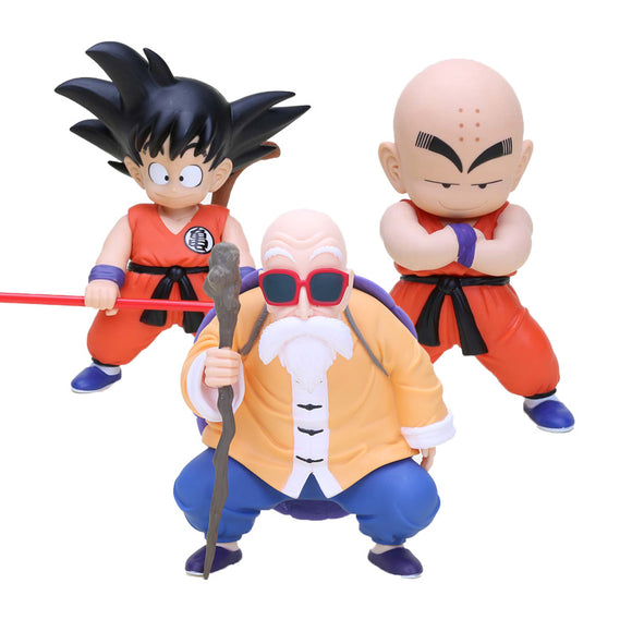 20cm Dragon Ball Z figures - Goku, Krillin, Master Roshi - 9figures, Action & Toy Figures, HappyDay22, 9figures