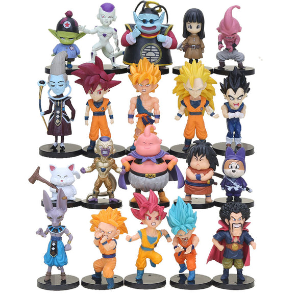 20pcs Dragon Ball Z figures! - 9figures, Action & Toy Figures, dulababy Store, 9figures