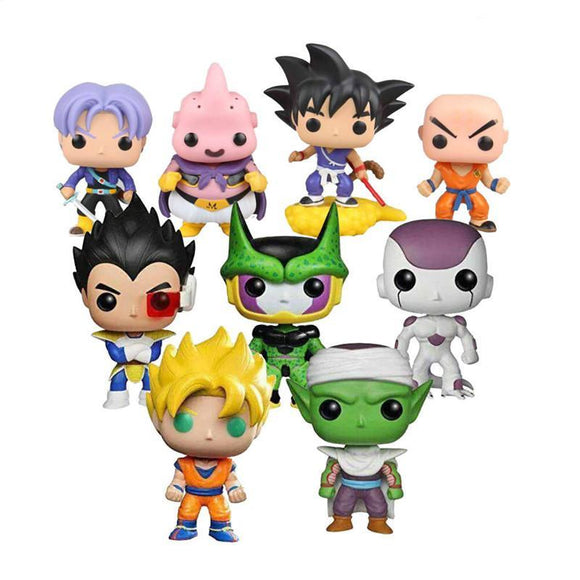 Dragon Ball Z Plush Figures - 9figures, Action & Toy Figures, Thomasdai toy Store, 9figures
