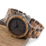 Ebony Zebra Watch - 9figures, Quartz Watches, BOBO BIRD Offical Store, 9figures