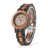 Handmade Ebony Wooden Watch - 9figures, Lover's Watches, BOBO BIRD Offical Store, 9figures