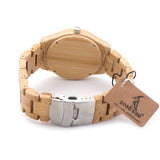 Natural Bamboo Watch - 9figures, Quartz Watches, BOBO BIRD Offical Store, 9figures