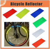Fluorescent Bike Reflectors - 9figures, Bicycle Stickers, The China Store, 9figures