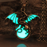 Luminous Dragon Pendant/Necklace - Glow in the Dark - 9figures, Jewellery, 9figures, 9figures
