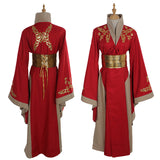 Queen Cersei Lannister Red Dress - Adult - Women - Exclusive - Custom Made - 9figures, Clothes, 9figures, 9figures