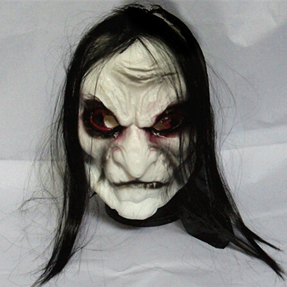 Long Hair Ghost  Zombie Mask - 9figures, Party Masks, CHASANWAN3 Store, 9figures