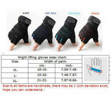 Weight Lifting / Calisthenic Gloves: Callus protection with Wrist Support - 9figures, Fitness Gloves, BestSellingMall Store, 9figures