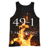 Conor Mcgregor 49-1 Tanktop: I AM BOXING - 9figures, All Over Print 2, teelaunch, 9figures