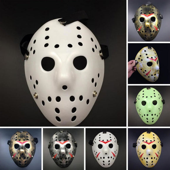 Hockey Halloween Mask - 9figures, Party Masks, Steven Forward Store, 9figures