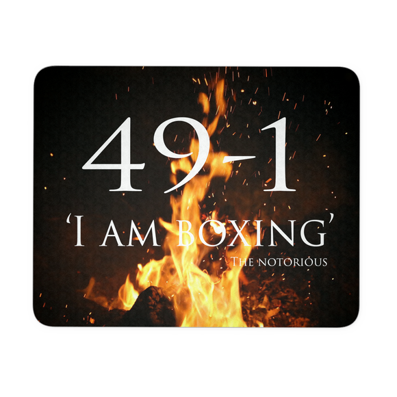 Mousepad - 49-1: I am boxing - 9figures, Mousepads, teelaunch, 9figures