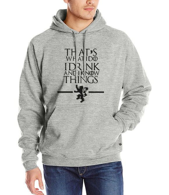 That's What I Do I Drink and I know Things - Hoodie - Unisex - 9figures, Clothes, 9figures, 9figures