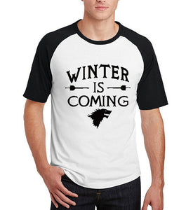 Winter is coming - T shirt - Male - Various colours - 9figures, Clothes, 9figures, 9figures