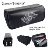 Double Zip Pencil Case - Multiple Variations - Game of Thrones, Dragon ball Z, Zelda, One punch man, Marvel, Pokemon etc. - 9figures, Stationary, 9figures, 9figures