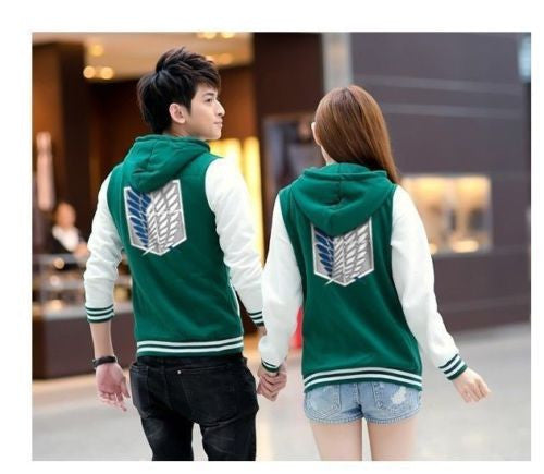 Attack On Titan HOODIES - Male and female - 9figures, Clothes, 9figures, 9figures