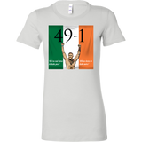 Conor Mcgregor 49-1 T-Shit: We're not here to take part, we're here to take over - Female - 9figures, T-shirt, teelaunch, 9figures