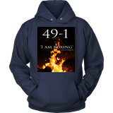 Conor Mcgregor 49-1 Hoodie: I am boxing - Unisex - 9figures, T-shirt, teelaunch, 9figures