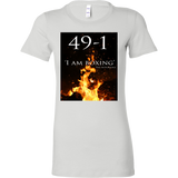 Conor Mcgregor 49-1 T-shirt: I am boxing - Female - 9figures, T-shirt, teelaunch, 9figures