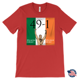 Conor Mcgregor 49-1 T-shirt: We're not here to take part, we're here to take over - Male - 9figures, T-shirt, teelaunch, 9figures