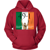 Conor Mcgregor 49-1 Hoodie: We're not here to take part, we're here to take over - Unisex - 9figures, T-shirt, teelaunch, 9figures