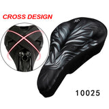 Ventilated saddle cushion - 9figures, Bicycle Saddle, CoolChange Sports flagship store, 9figures