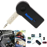 Bluetooth AUX Audio Jack - 3.5MM - Listen to your mobile music in your car - 9figures, Bluetooth Car Kit, Always Best, 9figures