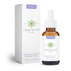 Indivita Hemp Oil Starter 2200mg - 50ml