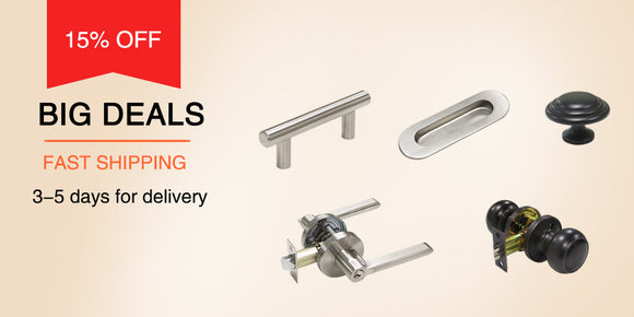 Probrico cabinet handles and door lock on sale