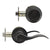Keyed Entry Leverset Lock with Single Cylinder Deadbolt Oil Rubbed Bronze Finish Combo Packs - Keyed Alike DL12061ET-101ORB