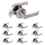 Heavy Duty Door Handles with Square Design Oil Rubbed Bronze Finish  DL01ORB