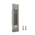 brushed nickel sliding door pull
