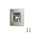 Stainless Steel Recessed Flush Door Pulls Square Style 50mm/70mm - Probrico