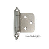 Satin Nickel & Polishe Chrome & Antique Bronze  & Antique Copper Cabinet Hinge Self Close - Probrico