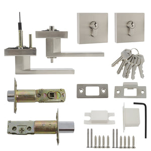 interior door lever lock