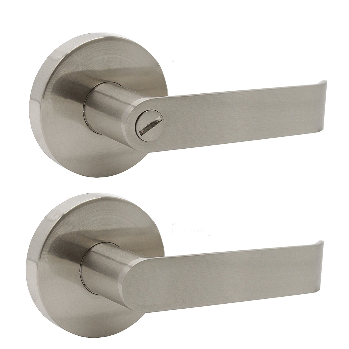 Fashion Heavy Duty Door Handles Brushed Nickel Privacy/Passage Door Lock Levers