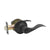 Wave Style Door Handle Keyed Entry/Privacy/Passage/Dummy Door Lock Levers, Oil Rubbed Bronze DL12061ORB